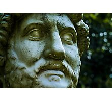 Bust of a Roman Emperor Photographic Print