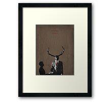 Hassun Framed Print