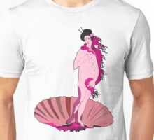 Venus by Botticelli geisha Unisex T-Shirt