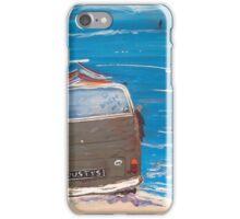 VW DUSTY KOMBI VAN iPhone Case/Skin
