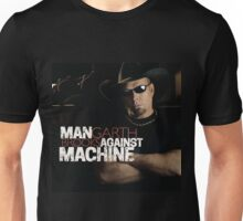 MAN GARTH BOOK AGAINST MACHINE Unisex T-Shirt