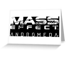 mass effect andromeda Greeting Card
