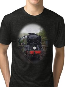 Steam Train-Tee/Hoodie Tri-blend T-Shirt