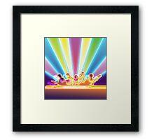 Rock Concert Framed Print