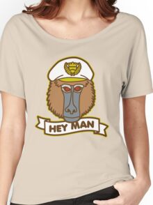 Hey Man Baboon Women's Relaxed Fit T-Shirt