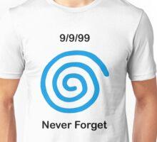Dreamcast Never Forget (PAL) Unisex T-Shirt