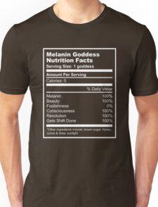 Melanin Goddess Unisex T-Shirt