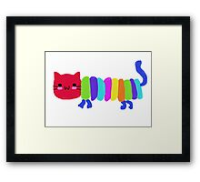The Very Hungry Cat-erpillar Framed Print