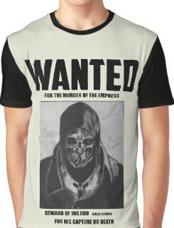 Dishonored Attano Corvo Wanted Graphic T-Shirt