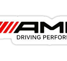 amg driving performance Sticker