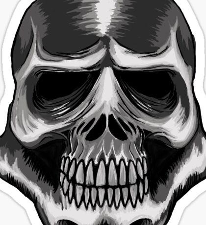 Trooper Skull Sticker