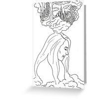 Musical Mind Greeting Card