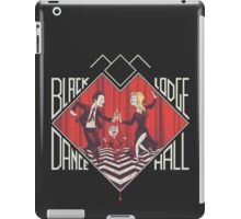 BLACK LODGE DANCE HALL iPad Case/Skin