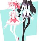 Madoka Magica by nowaitwhat