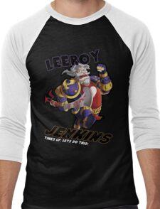 Leeory Jenkins: Time's Up! Men's Baseball ¾ T-Shirt