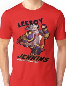 Leeory Jenkins: Time's Up! Unisex T-Shirt
