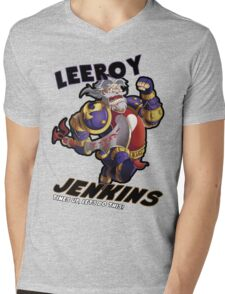 Leeory Jenkins: Time's Up! Mens V-Neck T-Shirt