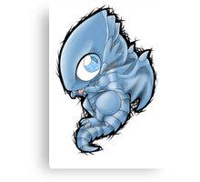 Blue Eyes Chibi Dragon Canvas Print