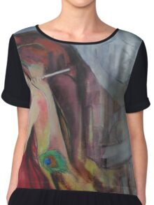 Twilight Drizzles  Chiffon Top