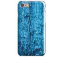 Freshly Dyed Blue Handmade Thai Silk iPhone Case/Skin