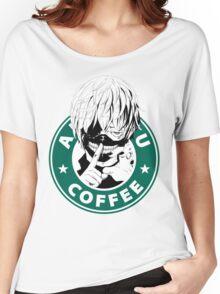 Tokyo Ghoul - Kaneki Ken Anteiku Coffee Women's Relaxed Fit T-Shirt