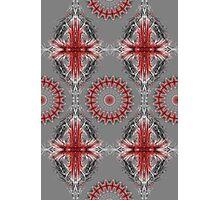 Repeat Pattern Kaleidoscope  Photographic Print