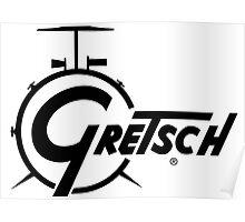 Gretsch Drum Poster