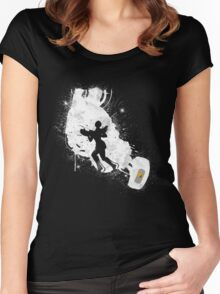 Still Alive (White Ver.) Women's Fitted Scoop T-Shirt