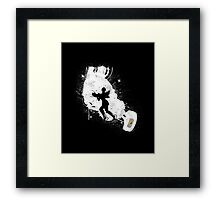 Still Alive (White Ver.) Framed Print