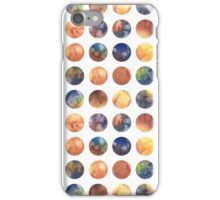 Сolored bubbles iPhone Case/Skin