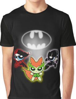Powerpuff Sirens Graphic T-Shirt