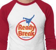 """Ready to Break"" (A) Men's Baseball ¾ T-Shirt"
