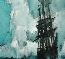 Ship Painting Sticker