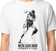 Metal Gear Solid Snake Classic T-Shirt