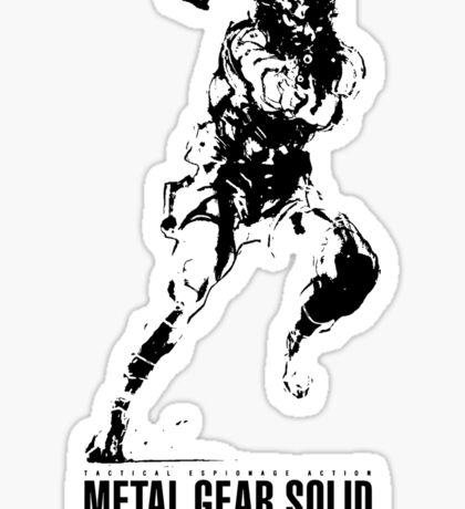 Metal Gear Solid Snake Sticker