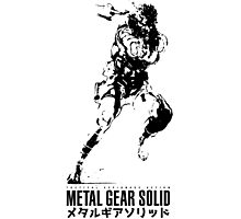 Metal Gear Solid Snake Photographic Print