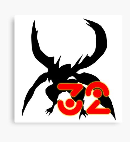 Yugioh Zexal Number 32 Canvas Print