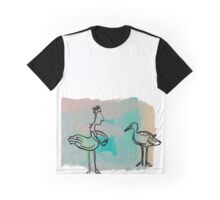 Fine Feathered Friends  Graphic T-Shirt