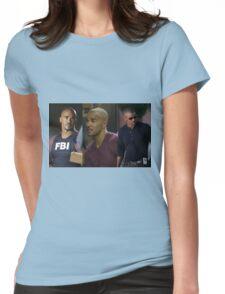 Derek Morgan Criminal Minds Womens Fitted T-Shirt