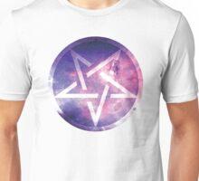 Pentagram in space Unisex T-Shirt