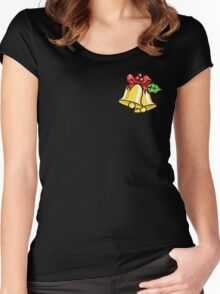 Christmas Bells Women's Fitted Scoop T-Shirt
