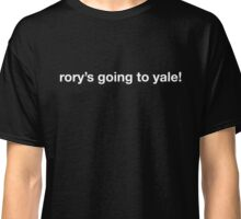 rory's going to yale! Classic T-Shirt