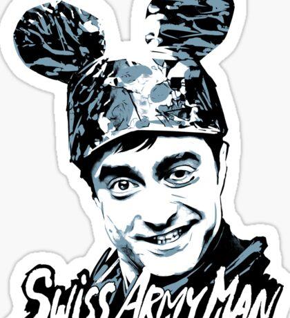 Swiss Army mickey Sticker