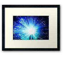 Light Burst Framed Print