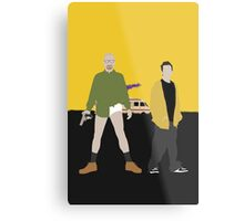 Walter and Jesse Metal Print
