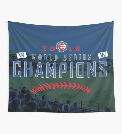 World Series Champs Wall Tapestry