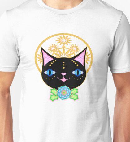 Chill Black Cat Unisex T-Shirt