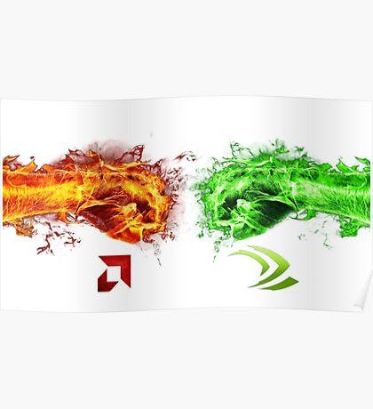 AMD vs Nvidia Poster