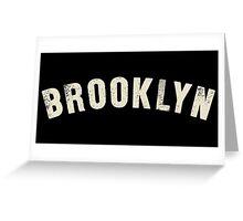 BROOKLYN LETTERPRESS Greeting Card