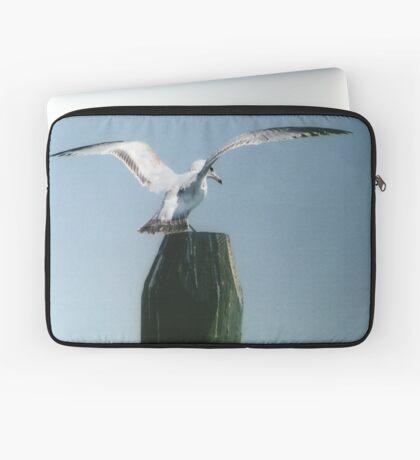 Perching Seagull Laptop Sleeve